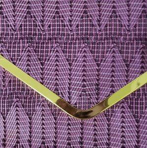 ASOS Bags - Woven Envelope Clutch in Lavendar/Purple